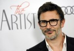 """Michel Hazanavicius, writer/director of """"The Artist,"""" poses at a screening of the film in Beverly Hills, Calif., Monday, Nov. 21, 2011. The silent, black-and-white film is set in Hollywood between 1927 and 1932. (AP Photo/Chris Pizzello)"""