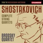 Chostakovitch Quatuors