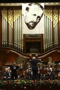 Le plateau de la Philharmonie