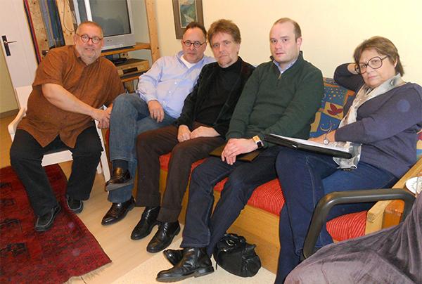 Les membres du Board : Remy Franck, Martin Hoffmeister, Stephen Hastings, Pierre-Jean Tribot et Michelle Debra