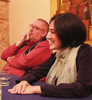 """Remy Franck, président du jury des ICMA et Ana Mateo, directrice générale de l'""""Or"""