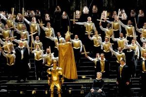 Les Huguenots à l'Opéra du Rhin (Strasbourg) / DR