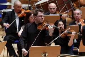 A Ankara en mars 2015 avec le Bilkent Symphony Orchestra dans le Concerto de Korngold