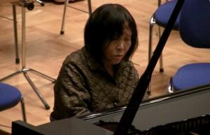 Zu Xiao Mei dans les Variations Goldberg lors du concert de gala des ICMA à Ankara en mars 2015