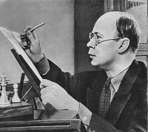C'est au piano que Prokofiev aimait composer