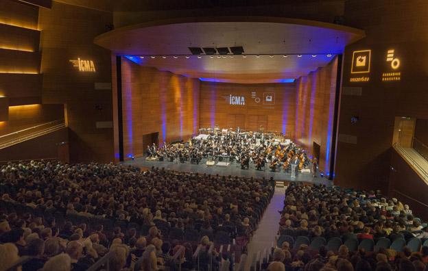 Une salle comble au Kursaal de San Sebastian (Photo  Juantxo Egana)