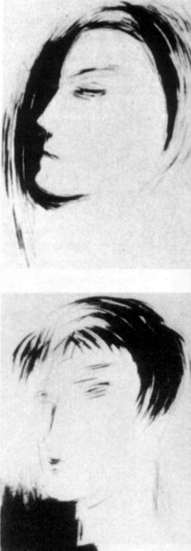 Dessins de Rodchenko pour les Visions fugitives (Coll. Oleg Prokofiev)