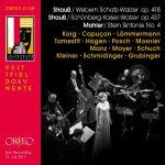 Strauss, Mahler, Schönberg, Webern, Orfeo